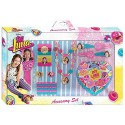 Set Soy Luna with hair accessories and jewelry