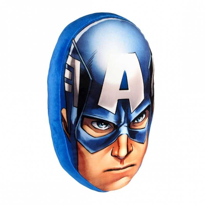Coussin 3D Velours MARVEL COMICS - CAPTAIN AMERICA
