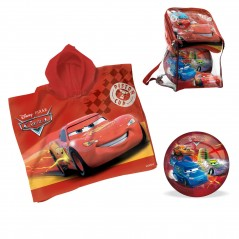 Cars Set Poncho + ballon Ø 230