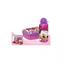 Boîte à goûter PVC + Gourde Minnie Disney