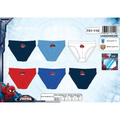 Boite de 3 Slips Spiderman