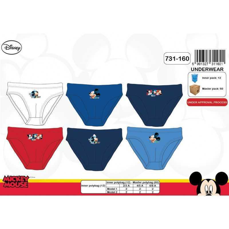 Boite de 3 slips Mickey Disney