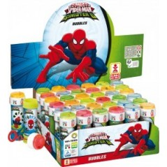 Bulle de savon Spiderman