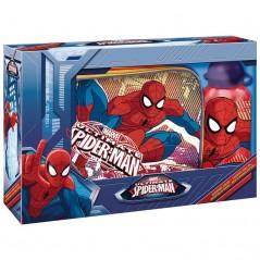 Boîte à gouter PVC + Gourde Spider-man