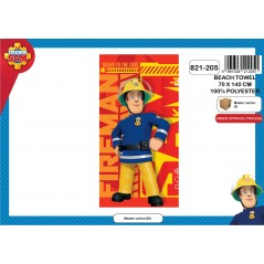 Beach towel or bath towel Fireman Sam