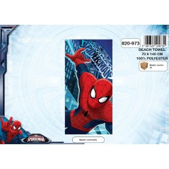 Toalla de playa de microfibra Spiderman 820-973