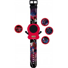 Montre lance disques spiderman the amazing