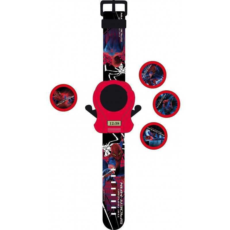 Montre lance disques spiderman the amazing