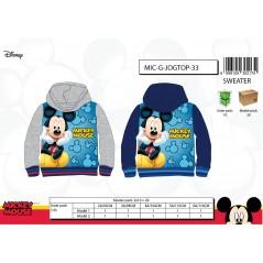 Sweat Mickey à capuche avec 2 poches