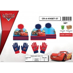 Set 2 pieces hat + gloves Cars Disney