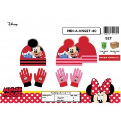 Set 2 pieces Minnie beanie and gloves Minnie