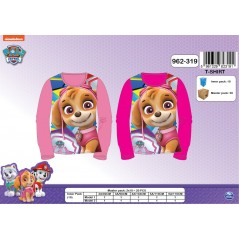 T-shirt long sleeve Paw Patrol