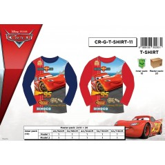 T-shirt Disney Cars long sleeve-961-166