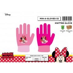 Minnie Disney Handschuhe eingestellt