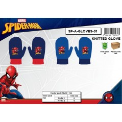 Mitten Spiderman gloves