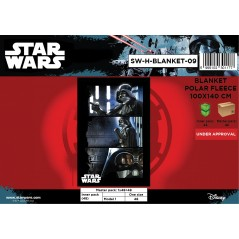 Plaid polaire Star Wars - 720-170