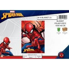 Plaid fleece Spiderman -720-246