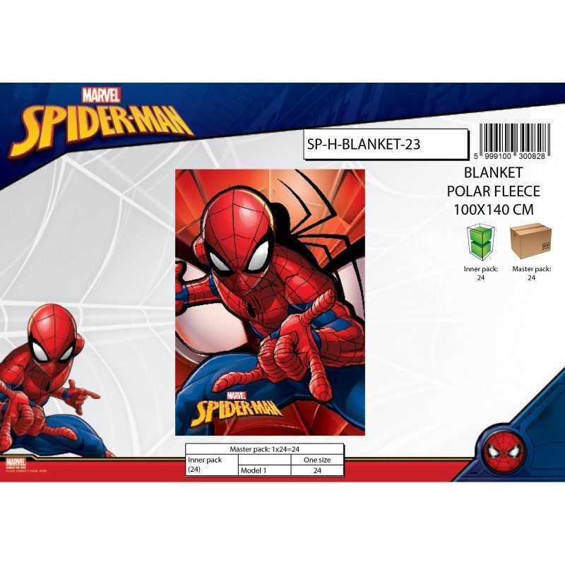 Marvel Spiderman Fleecedecke