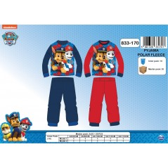 Pajamas polar long, Paw Patrol - 2 to 6 years - 832-360