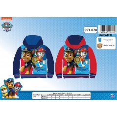 Sweat Cars hoody zipped with 2 pockets