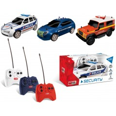 voiture radio commandée 1/28e Collection Security