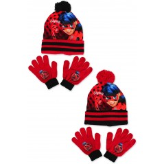 Miraculous hat and gloves Miraculous 2 piece set