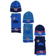 Set 3 pezzi Beanie + sciarpa + guanti Pat Patrouille