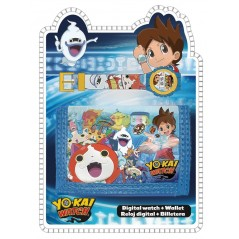 Set portefeuille + montre digitale Yo-Kai Watch