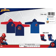 Imperméable Spiderman Marvel