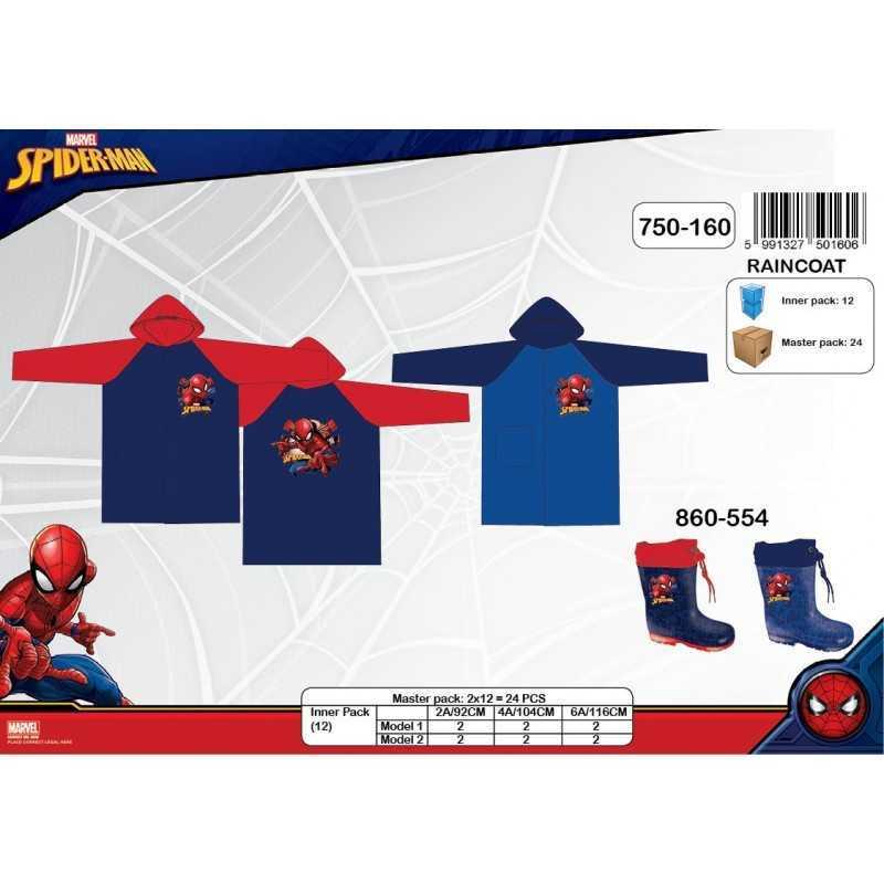 Imperméable Spiderman Marvel