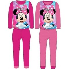 Minnie Long Fleece Pajamas - 111-014