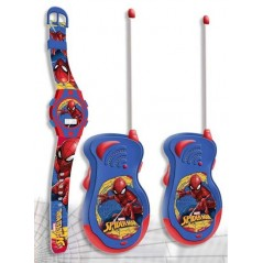 SET TALKIE WALKIE + MONTRE DIGITALE SPIDERMAN