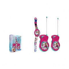 SET TALKIE WALKIE + MONTRE DIGITALE FROZEN DISNEY
