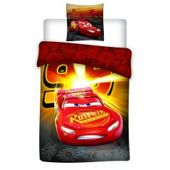 Cars - Parure duvet child - 1 duvet cover 140x200 + 1 pillowcase 63x63cm