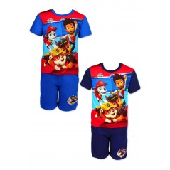Ensemble T-shirt + Short Paw Patrol