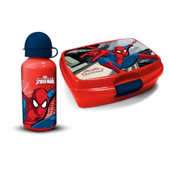 PVC snack box + Spider-man bottle