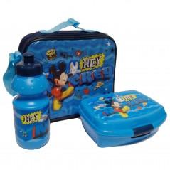 Sac isotherme Mickey avec boîte à goûter et gourde La Mickey