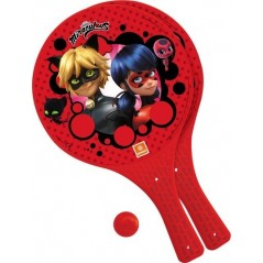 Miraculous Beach Racquets with 1 Ball