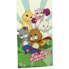 Zhu Zhu Pets Pink Beach Towel Or Towel