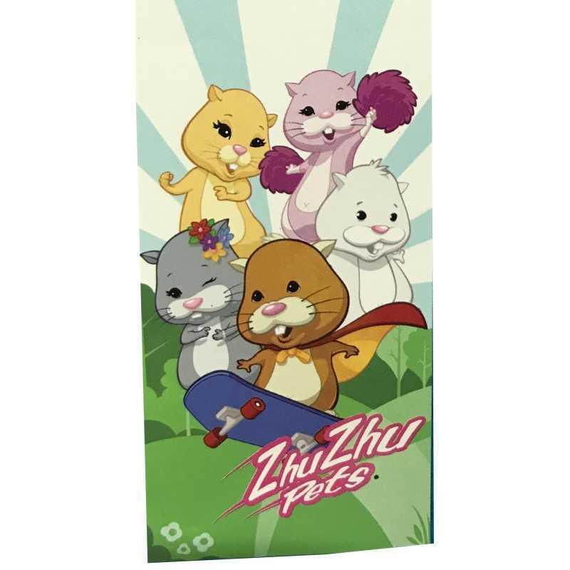 Zhu Zhu Pets Pink Badetuch oder Handtuch