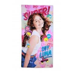Cotton beach towel Soy Luna