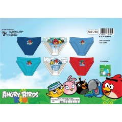 Box of 3 pairs of briefs Angry Birds -730-617