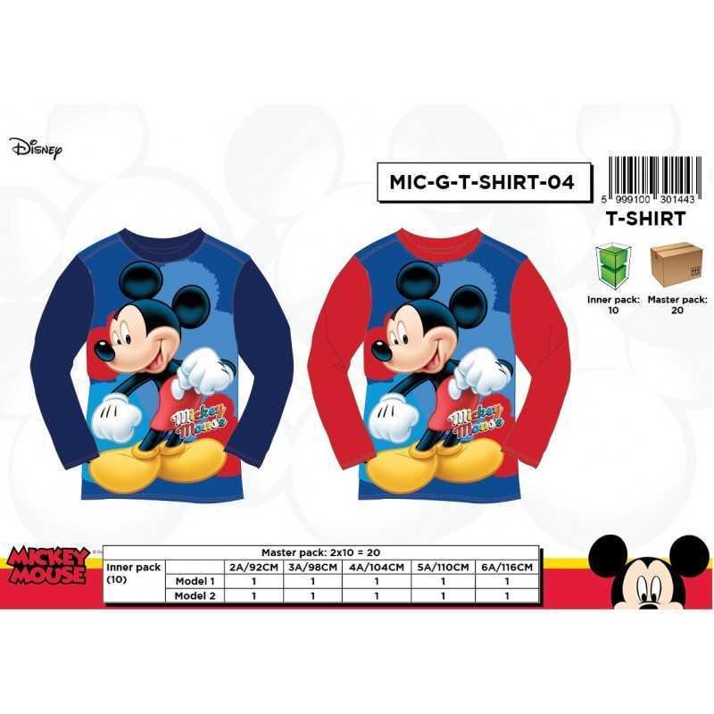 Mickey Long Sleeve T-shirt...