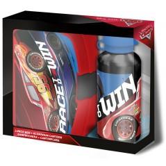 Boîte à goûter PVC + Gourde Cars Disney