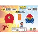 Flash Cap i Wonder Woman
