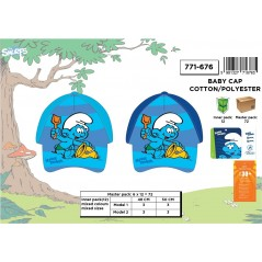 Baby cap Smurfs