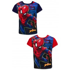 Camiseta de manga corta Spiderman