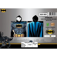 Batman Hooded Poncho