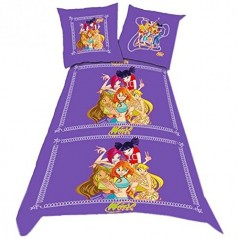Set WINX CLUB DUVET COVER -140x200cm and WINX CLUB Pillow