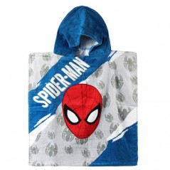 Poncho bath hooded Spiderman - 820-435